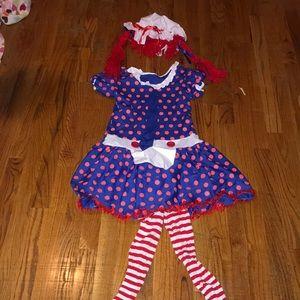 Kids Ragedy Ann Costume, YL